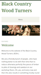 Mobile Preview of blackcountrywoodturners.co.uk